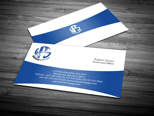 WPS Mortgage Business Cards and Stationery  Draft # 244 by jpgart92