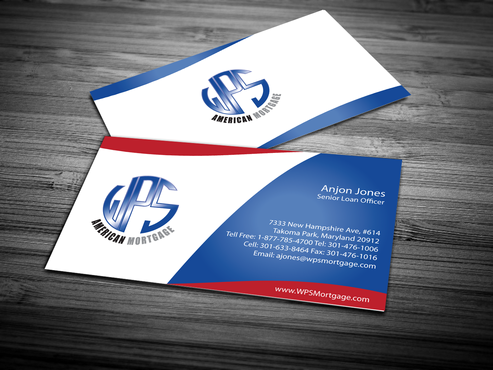 WPS Mortgage Business Cards and Stationery  Draft # 246 by jpgart92