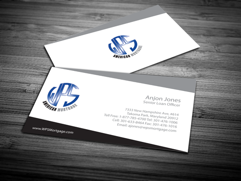 WPS Mortgage Business Cards and Stationery  Draft # 247 by jpgart92