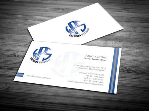 WPS Mortgage Business Cards and Stationery  Draft # 250 by jpgart92