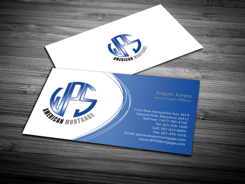 WPS Mortgage Business Cards and Stationery  Draft # 249 by jpgart92