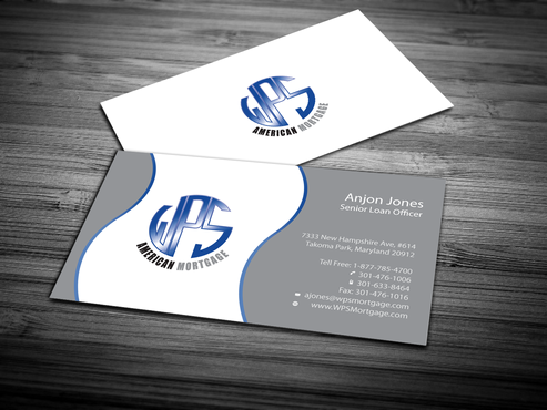WPS Mortgage Business Cards and Stationery  Draft # 251 by jpgart92