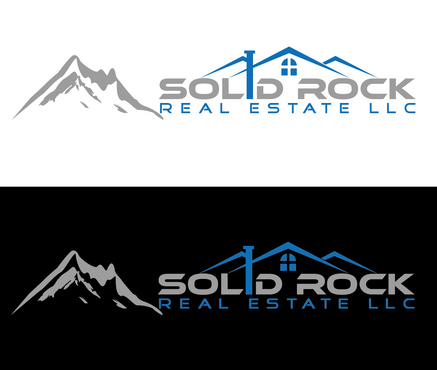 SOLID ROCK Real Estate llc A Logo, Monogram, or Icon  Draft # 28 by valiWORK