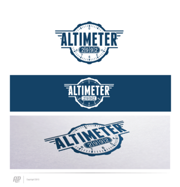 Altimeter 2992 A Logo, Monogram, or Icon  Draft # 20 by apstudio