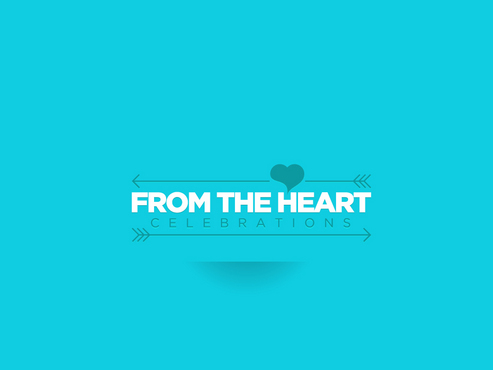 From the heart celebrations A Logo, Monogram, or Icon  Draft # 1 by FriesFx