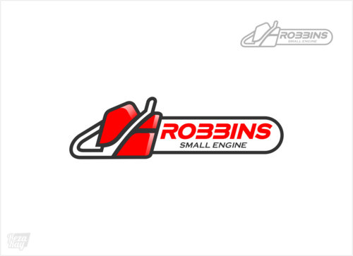 Robbins Small Engine A Logo, Monogram, or Icon  Draft # 4 by rezaray