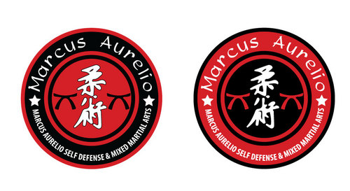 Marcus Aurelio Self Defense & Mixed Martial Arts A Logo, Monogram, or Icon  Draft # 7 by mop3d