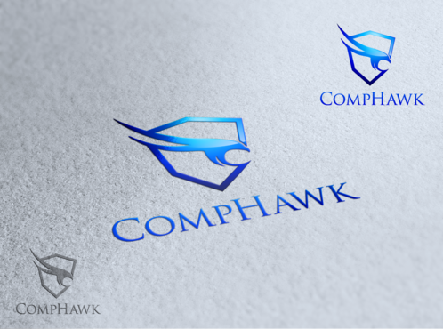 CompHawk A Logo, Monogram, or Icon  Draft # 6 by apptech