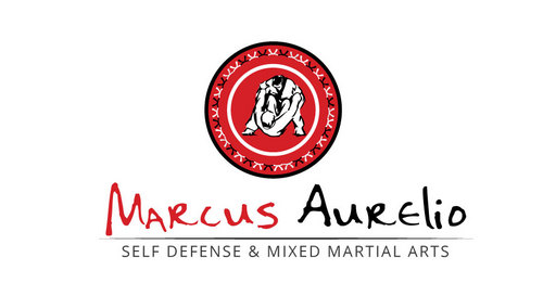Marcus Aurelio Self Defense & Mixed Martial Arts A Logo, Monogram, or Icon  Draft # 8 by mop3d