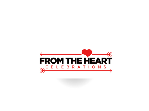 From the heart celebrations A Logo, Monogram, or Icon  Draft # 2 by FriesFx