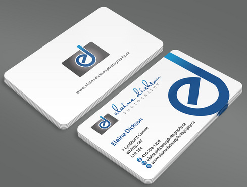 Elaine Dickson Photography Business Cards and Stationery  Draft # 1 by ArtworksKingdom
