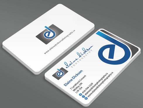 Elaine Dickson Photography Business Cards and Stationery  Draft # 2 by ArtworksKingdom