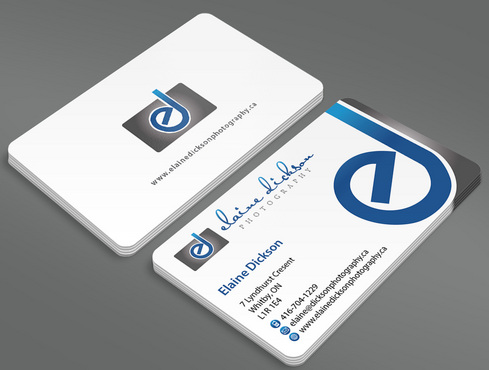 Elaine Dickson Photography Business Cards and Stationery  Draft # 3 by ArtworksKingdom