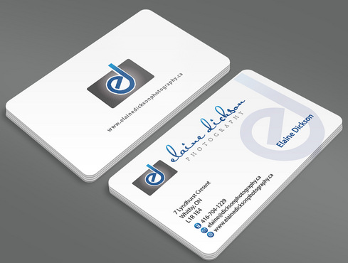 Elaine Dickson Photography Business Cards and Stationery  Draft # 4 by ArtworksKingdom