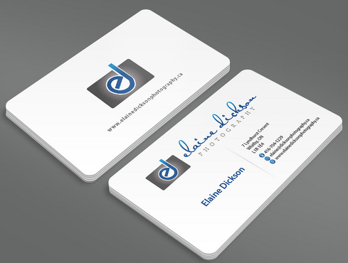 Elaine Dickson Photography Business Cards and Stationery  Draft # 5 by ArtworksKingdom