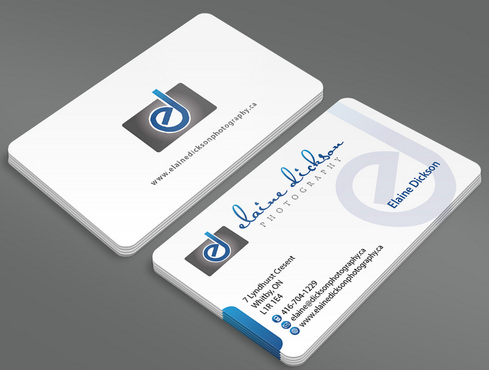 Elaine Dickson Photography Business Cards and Stationery  Draft # 6 by ArtworksKingdom