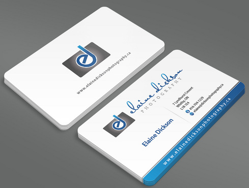 Elaine Dickson Photography Business Cards and Stationery  Draft # 7 by ArtworksKingdom
