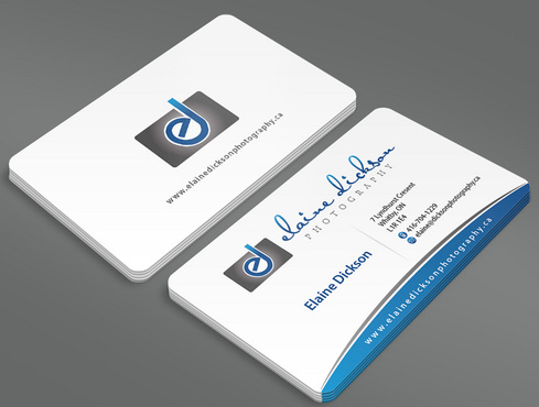 Elaine Dickson Photography Business Cards and Stationery  Draft # 8 by ArtworksKingdom