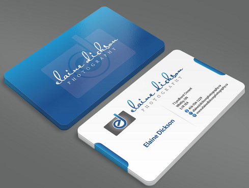 Elaine Dickson Photography Business Cards and Stationery  Draft # 23 by ArtworksKingdom