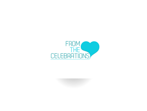 From the heart celebrations A Logo, Monogram, or Icon  Draft # 4 by FriesFx
