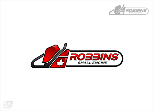 Robbins Small Engine A Logo, Monogram, or Icon  Draft # 7 by rezaray