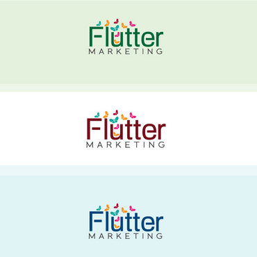 Flutter Marketing A Logo, Monogram, or Icon  Draft # 114 by Logoziner