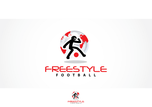 Freestyle Football Logo Winning Design by skysthelimit