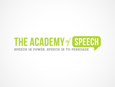The Academy of Speech A Logo, Monogram, or Icon  Draft # 18 by chumlee