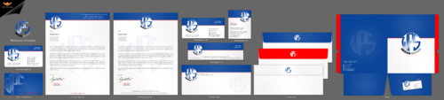 WPS Mortgage Business Cards and Stationery Winning Design by einsanimation