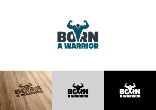 Born a Warrior A Logo, Monogram, or Icon  Draft # 16 by pedroferreira