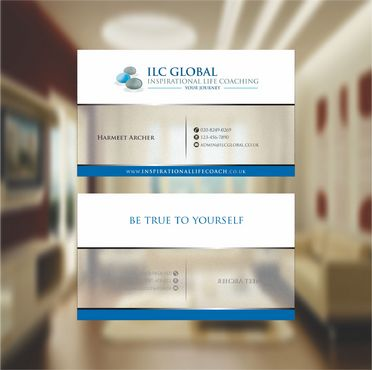 ILC Global Ltd Business Cards and Stationery  Draft # 298 by xtremecreative3