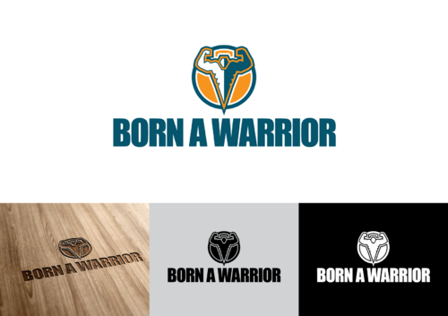 Born a Warrior A Logo, Monogram, or Icon  Draft # 17 by pedroferreira