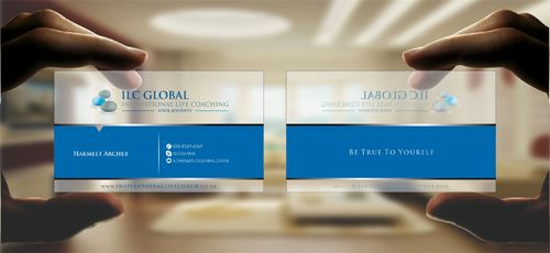 ILC Global Ltd Business Cards and Stationery  Draft # 299 by Deck86