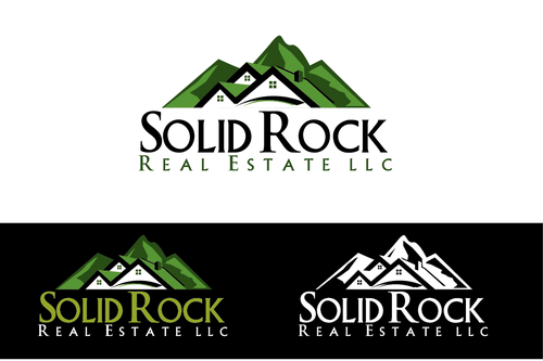 SOLID ROCK Real Estate llc A Logo, Monogram, or Icon  Draft # 66 by LogoXpert