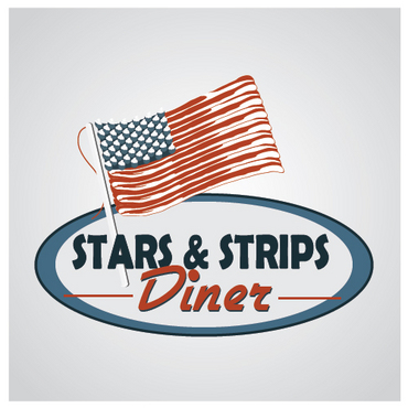 Stars & Strips Diner A Logo, Monogram, or Icon  Draft # 36 by melody1
