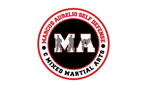 Marcus Aurelio Self Defense & Mixed Martial Arts A Logo, Monogram, or Icon  Draft # 22 by shkhdesigns