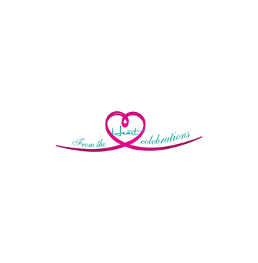 From the heart celebrations A Logo, Monogram, or Icon  Draft # 11 by InventiveStylus