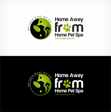 Home Away From Home Pet Spa /  montereypetspa.com A Logo, Monogram, or Icon  Draft # 82 by mahiiish