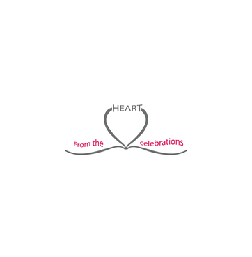 From the heart celebrations A Logo, Monogram, or Icon  Draft # 13 by InventiveStylus