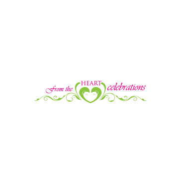 From the heart celebrations A Logo, Monogram, or Icon  Draft # 14 by InventiveStylus