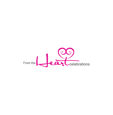 From the heart celebrations A Logo, Monogram, or Icon  Draft # 16 by InventiveStylus