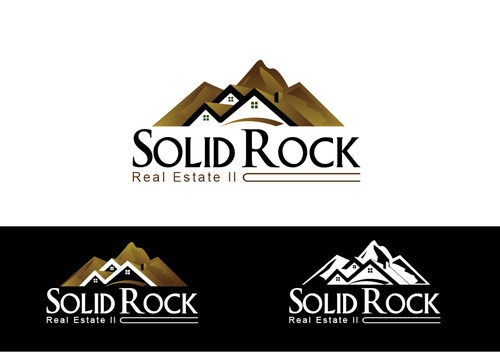 SOLID ROCK Real Estate llc A Logo, Monogram, or Icon  Draft # 85 by LogoXpert