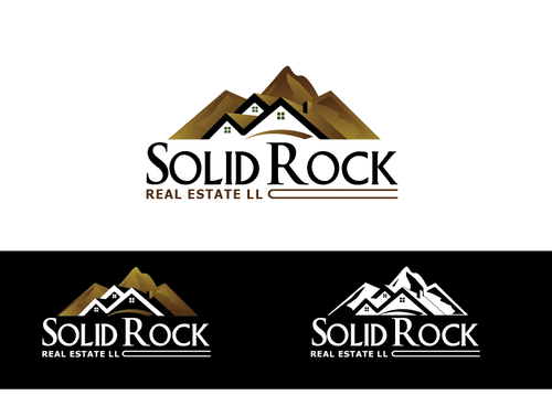 SOLID ROCK Real Estate llc A Logo, Monogram, or Icon  Draft # 86 by LogoXpert