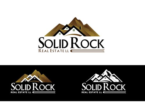 SOLID ROCK Real Estate llc A Logo, Monogram, or Icon  Draft # 88 by LogoXpert