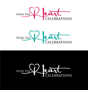 From the heart celebrations A Logo, Monogram, or Icon  Draft # 20 by InventiveStylus