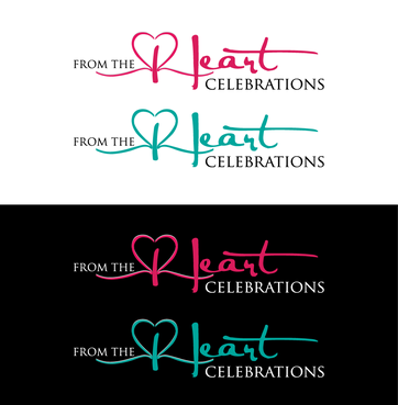 From the heart celebrations A Logo, Monogram, or Icon  Draft # 21 by InventiveStylus