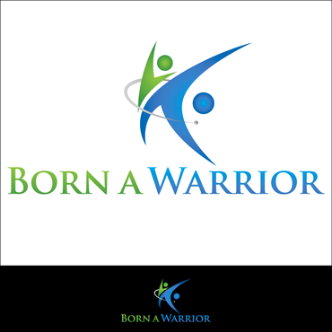 Born a Warrior A Logo, Monogram, or Icon  Draft # 26 by waqasss