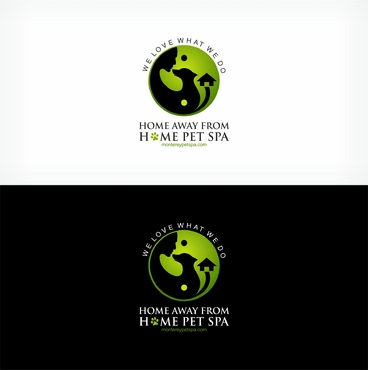 Home Away From Home Pet Spa /  montereypetspa.com A Logo, Monogram, or Icon  Draft # 83 by mahiiish