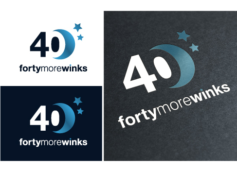 40 More Winks (also Forty More Winks) A Logo, Monogram, or Icon  Draft # 76 by Mayas