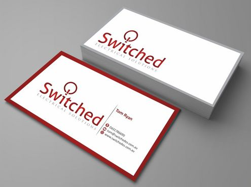 Residential Commercial Industrial Business Cards and Stationery  Draft # 128 by Deck86